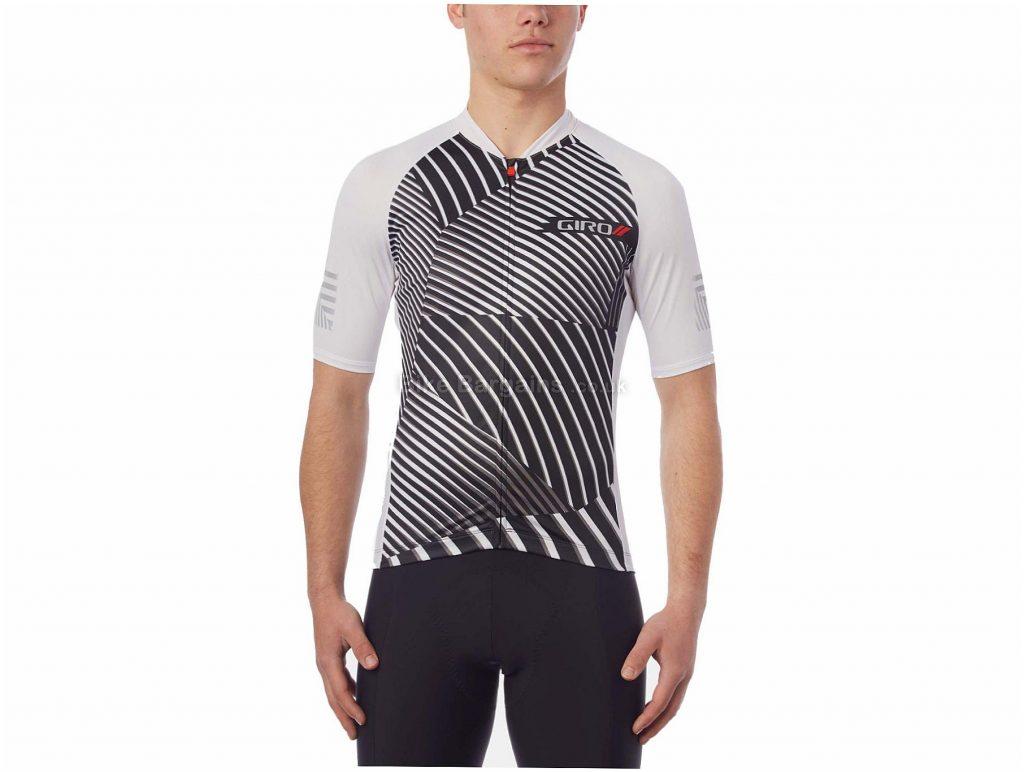 Giro Chrono Expert Short Sleeve Jersey 2018 S, Red, Blue, Men's, Short Sleeve, Polyester, Elastane