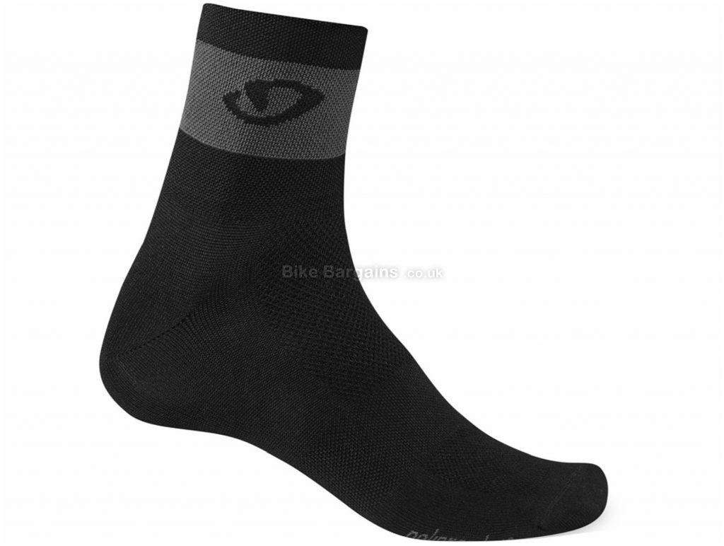 Giro Comp Racer Socks S, Blue, White, Unisex, Polypropylene, Nylon, Elastane, Lycra