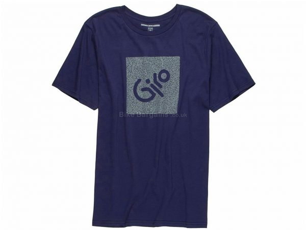 Giro Transfer Victory Short Sleeve T-Shirt M,XL, Blue, Men's, Short Sleeve, Cotton