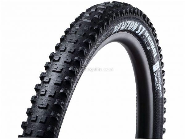 "Goodyear Newton ST EN Ultimate Tubeless MTB Tyre 27.5"", 2.6"", Black, Folding, Rubber, Kevlar"