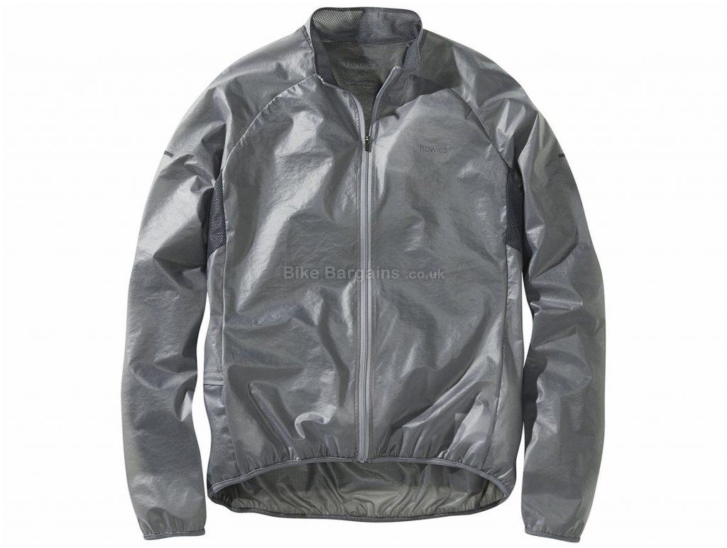 Howies Ladies Clearer Jacket XL, Grey, Ladies, Long Sleeve, Polyester