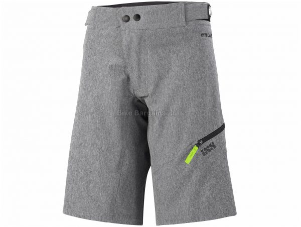 IXS Ladies Carve MTB Shorts L, Grey, Ladies, Baggy, Polyester, Elastane