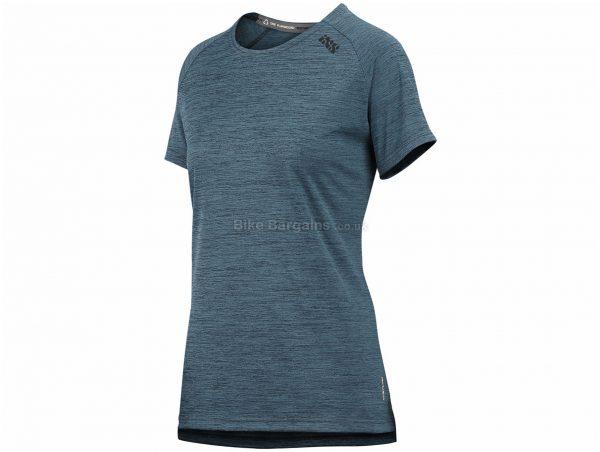 IXS Ladies Flow X Short Sleeve Jersey XS,S,M,XXL, Black, Ladies, Short Sleeve, Polyester, Elastane