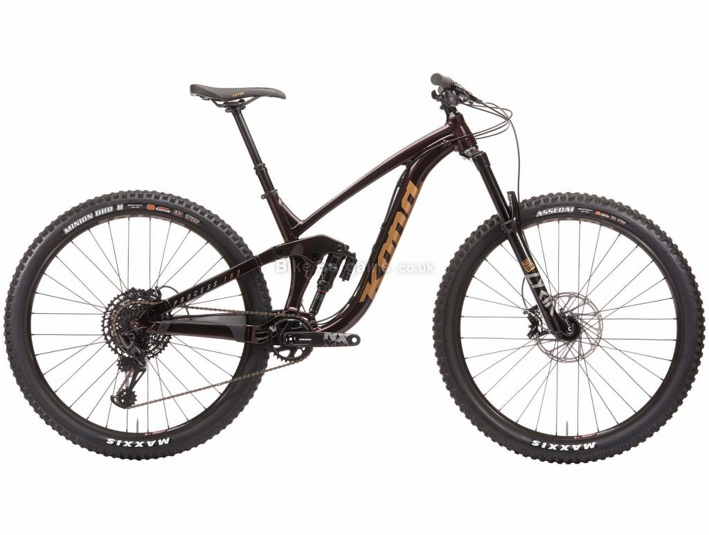 "Kona Process 153 DL 29 Alloy Full Suspension Mountain Bike 2020 M, Brown, 12 Speed, Alloy Frame, 29"" Wheels, Disc Brakes, Full Suspension"