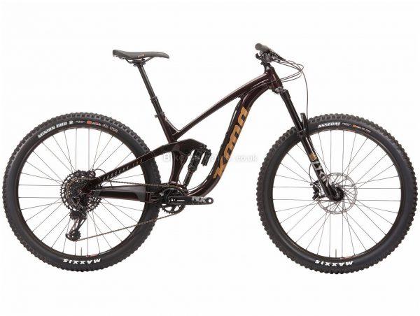 "Kona Process 153 DL 29 Alloy Full Suspension Mountain Bike 2020 M, Brown, 12 Speed, Alloy Frame, 29"" Wheels, Disc Brakes, Full Suspension"