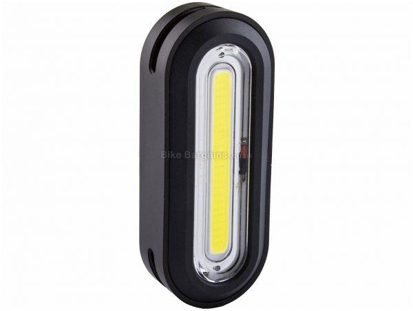Kryptonite Avenue F-100 USB COB Front Light 100 Lumens, Front, White, Black, 47g, Nylon