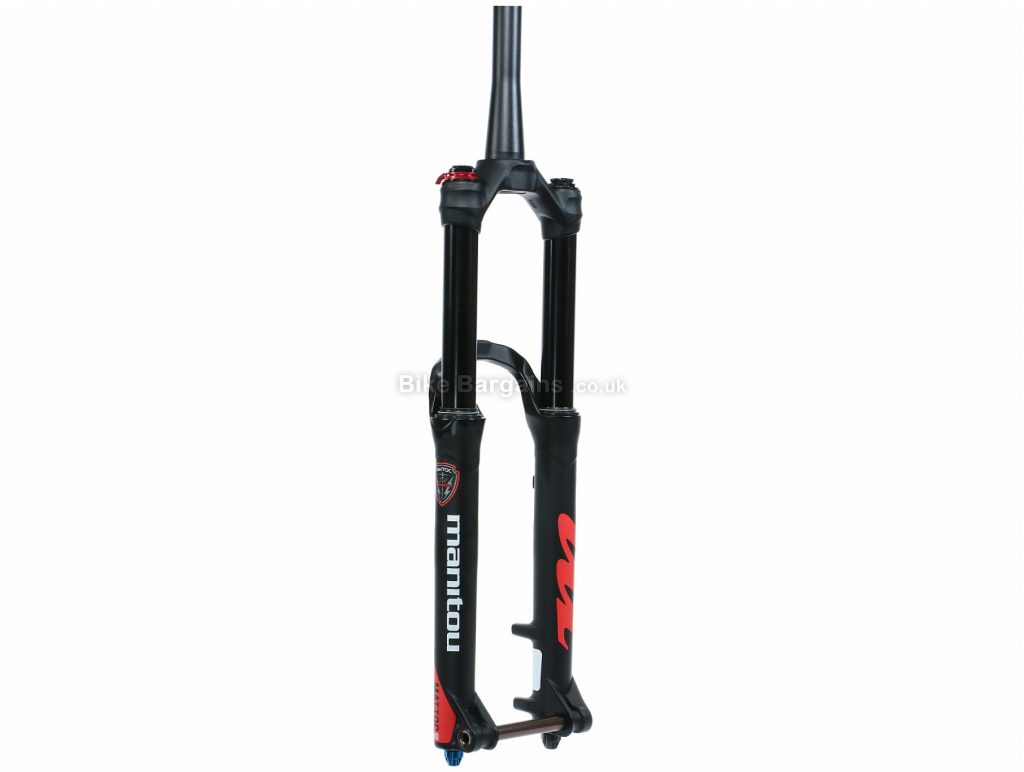 "Manitou Mattoc Pro MTB Suspension Forks 2016 27.5"", 100mm, Black, Tapered, 1.892kg, Alloy"