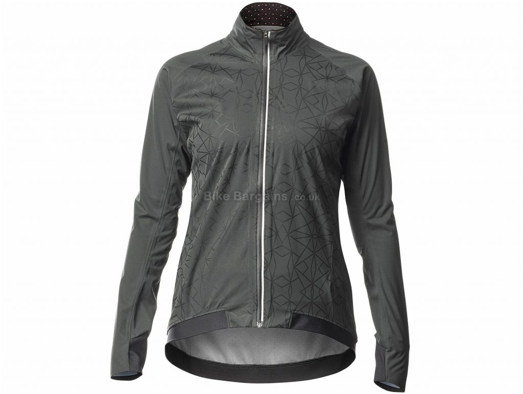 Mavic Sequence H20 Ladies Jacket XS, Grey, Black, Ladies, Long Sleeve, Polyester