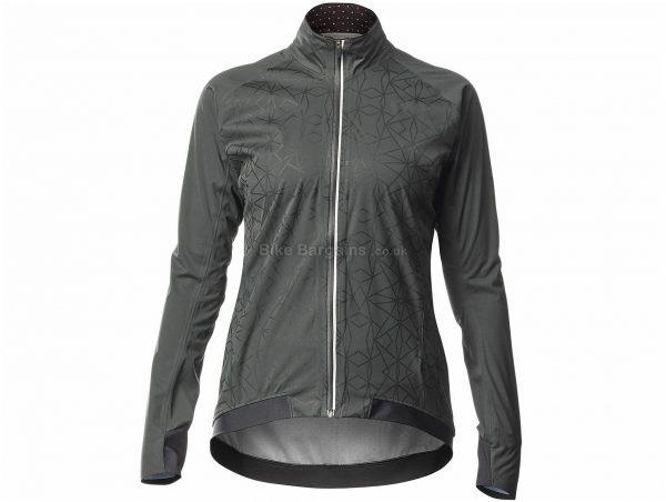 Mavic Sequence H20 Ladies Jacket XS, Grey, Black, Ladies, Long Sleeve, Polyester