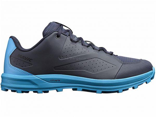 Mavic XA MTB Shoes 38, Blue, Black, Unisex, Laces, Rubber