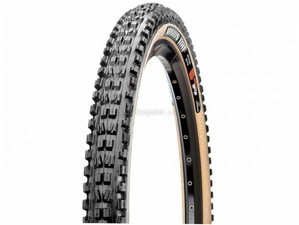 "Maxxis Minion DHF 3C EXO TR Skinwall Folding MTB Tyre 27.5"", 2.3"", Folding, Black, 880g, Rubber, Kevlar"
