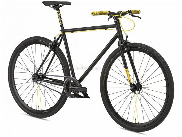 NS Bikes Analog Steel City Bike 2020 S, Black, 1 Speed, Steel Frame, 700c Wheels, Caliper Brakes, Rigid, 11.9kg
