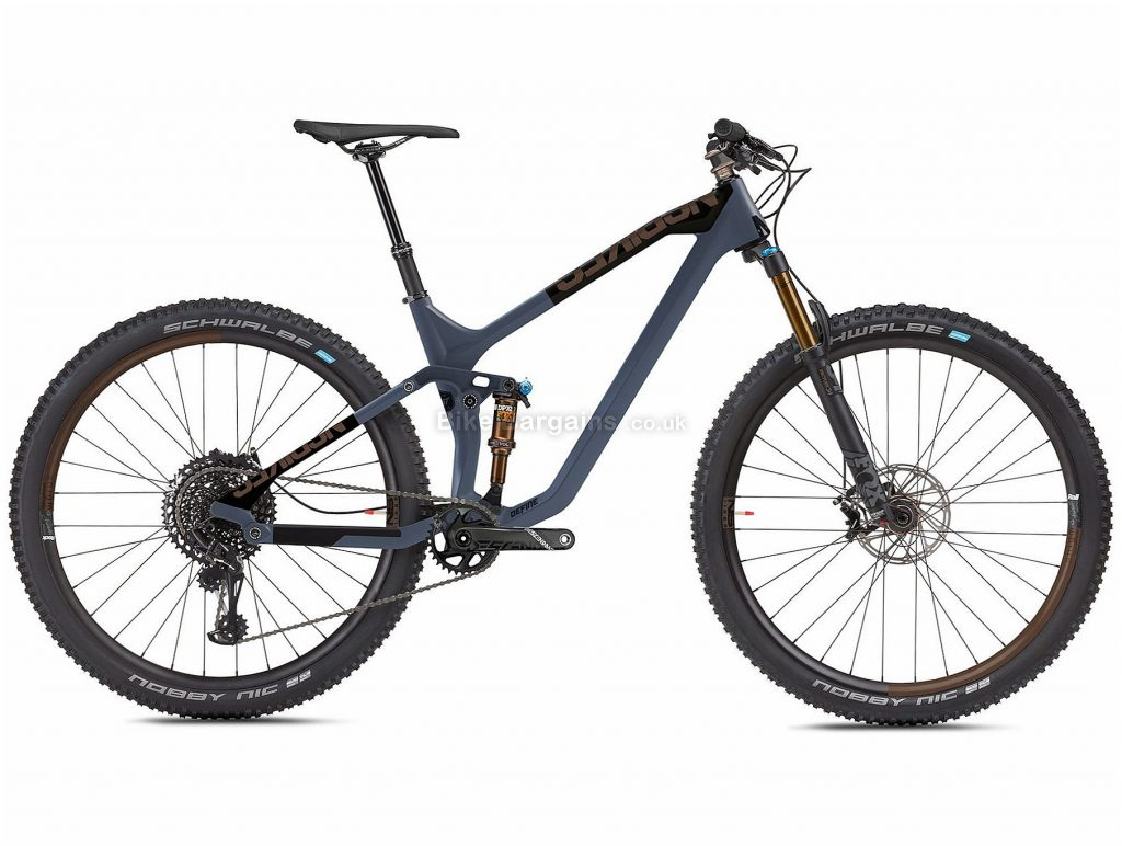 "NS Bikes Define 130 1 Carbon Full Suspension Mountain Bike 2020 L, Grey, 12 Speed, Carbon Frame, 29"" Wheels, Disc Brakes, Full Suspension, 13.2kg"