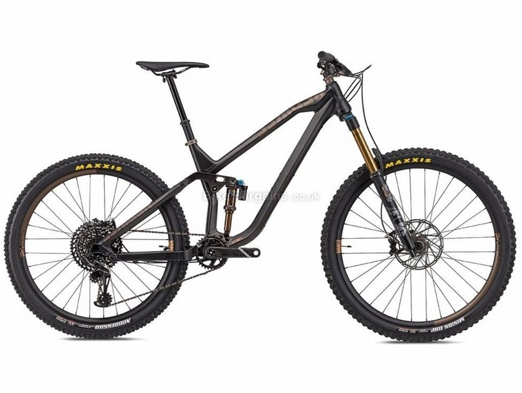 "NS Bikes Define AL Race 160 Alloy Full Suspension Mountain Bike 2020 L, Black, 12 Speed, Alloy Frame, 29"" Wheels, Disc Brakes, Full Suspension, 14.5kg"