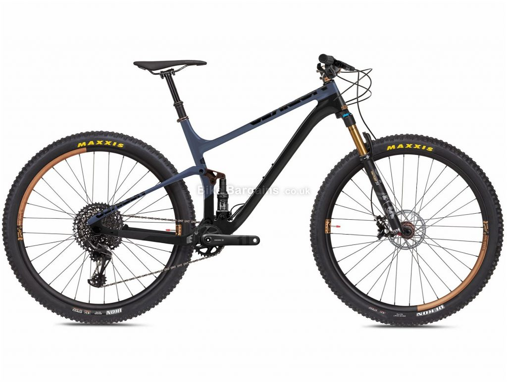"NS Bikes Synonym 1 Carbon Full Suspension Mountain Bike 2020 XL, Black, Grey, 12 Speed, Carbon Frame, 29"" Wheels, Disc Brakes, Full Suspension, 11.8kg"