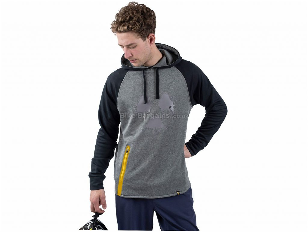 Nukeproof Outland Casual Hoodie M, Black, Orange, Polyester