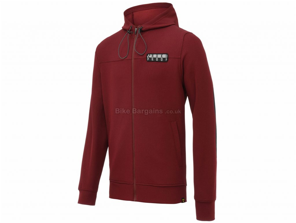 Nukeproof Outland Tech Hoodie M,L, Red, Men's, Long Sleeve, Polyester