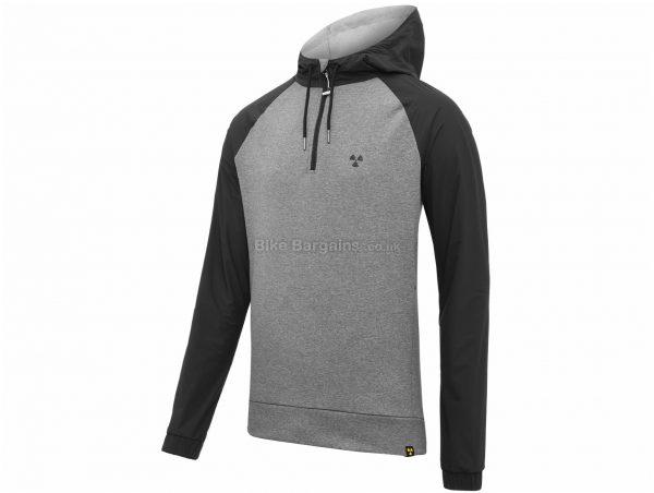 Nukeproof Outland Zip Jacket XL, Grey, Black, Men's, Long Sleeve, Polyamide, Polyester