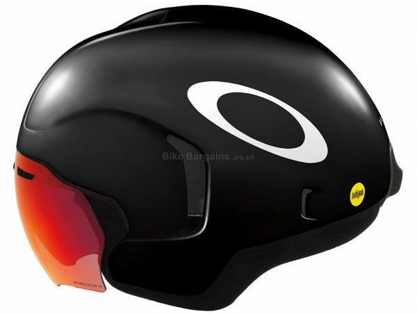 Oakley ARO7 Helmet M, Black, White, Unisex, 10 vents, Polycarbonate