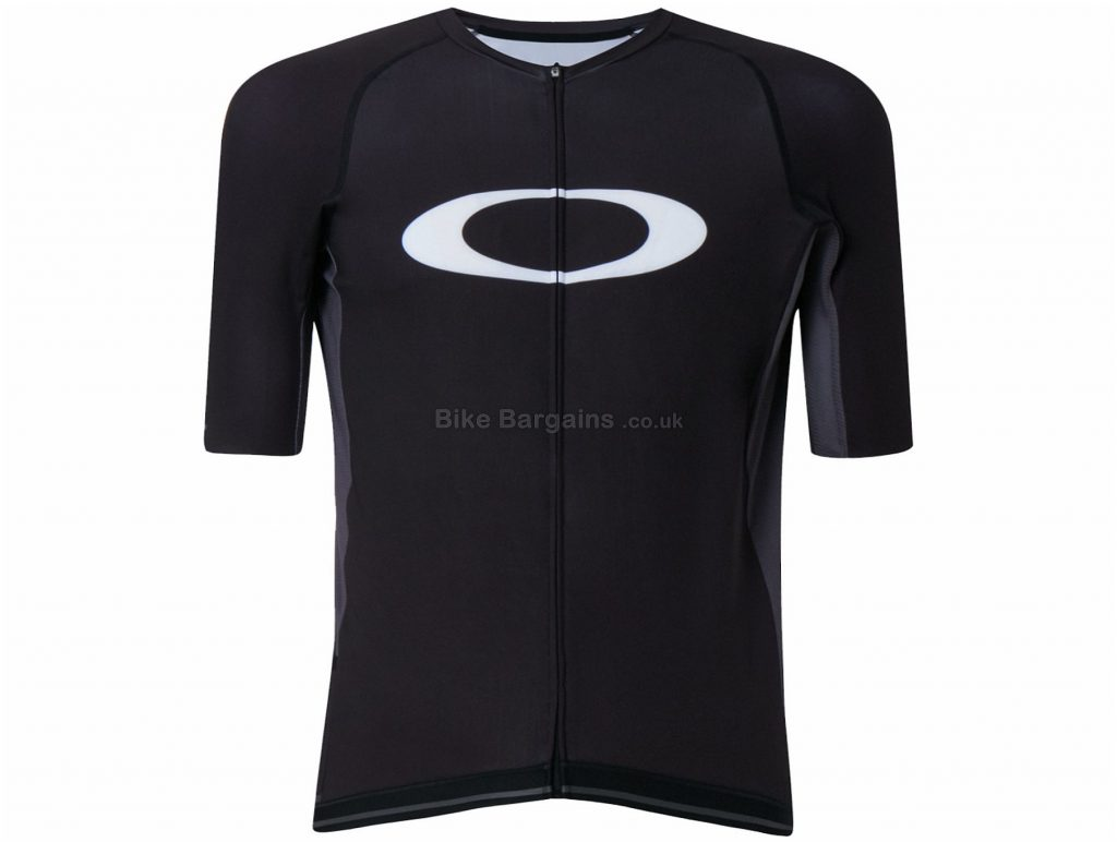 Oakley Icon 2.0 Short Sleeve Jersey XS,S,XXL, White, Short Sleeve, Men's, Polyester, Elastane
