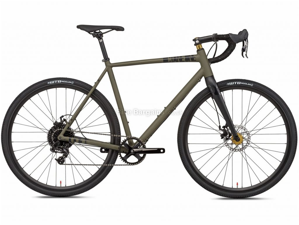 Octane One Gridd 2 Alloy Gravel Bike 2020 M,L, Red, 10 Speed, Alloy Frame, 700c Wheels, Disc Brakes, 10.9kg