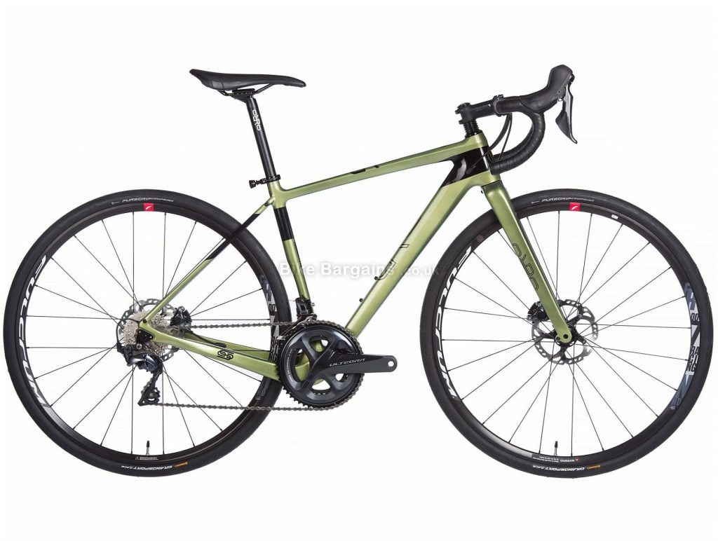 Orro Terra C 8020 R700 Adventure Carbon Gravel Bike 2020 XS, Green, Black, 22 Speed, Carbon Frame, 700c Wheels, Disc Brakes