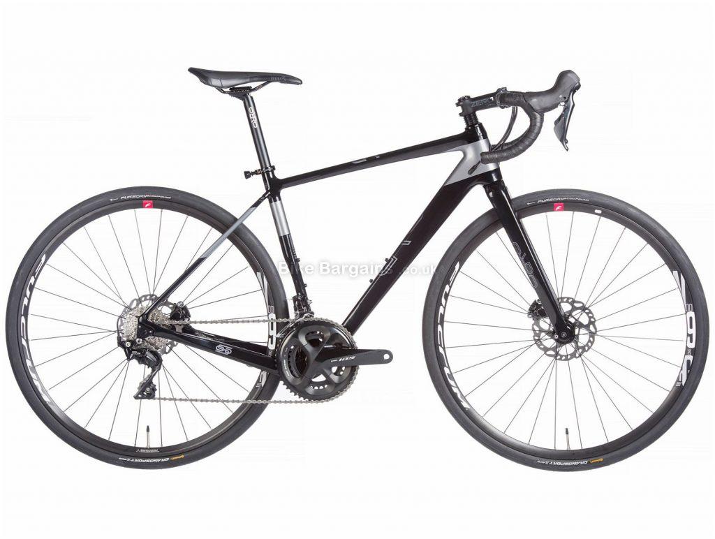 Orro Terra C HYD 7020 R7000 Adventure Carbon Gravel Bike 2020 XS, Black, Grey, 22 Speed, Carbon Frame, 700c Wheels, Disc Brakes