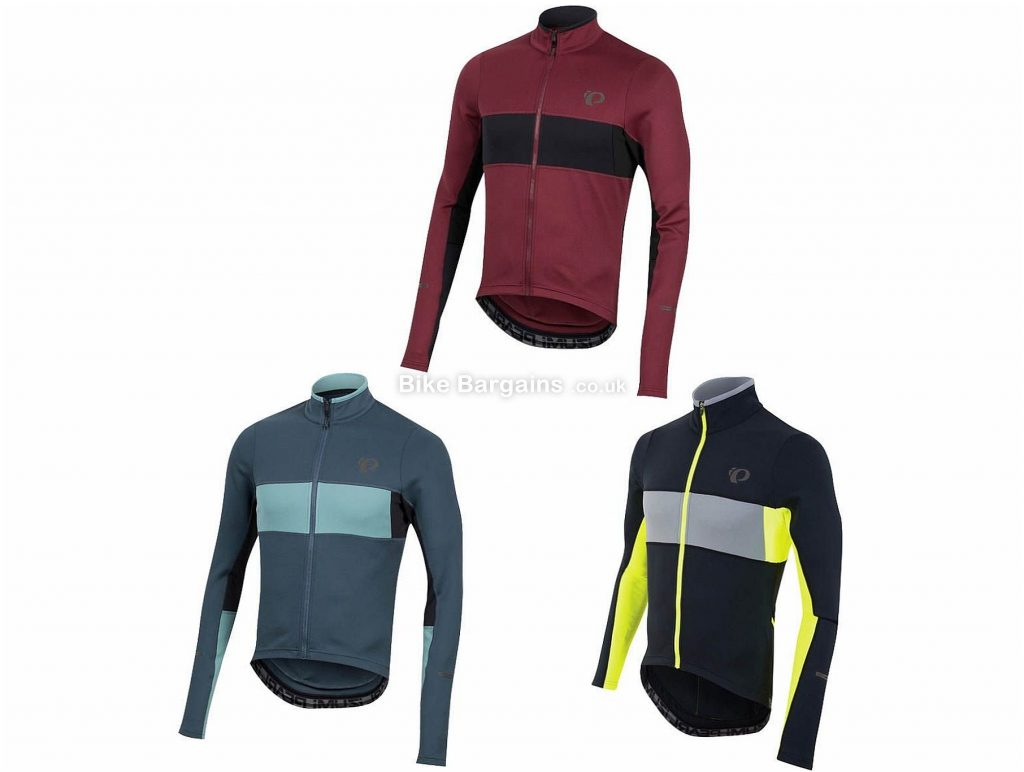 Pearl Izumi Elite Escape Thermal Long Sleeve Jersey 2019 S, Black, Yellow, Blue, Red, Long Sleeve, Polyester, Elastane