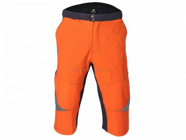 Polaris Galaxy Baggy MTB Shorts S,M,L,XL,XXL, Orange, Grey, Blue, Men's, Baggy, Polyester