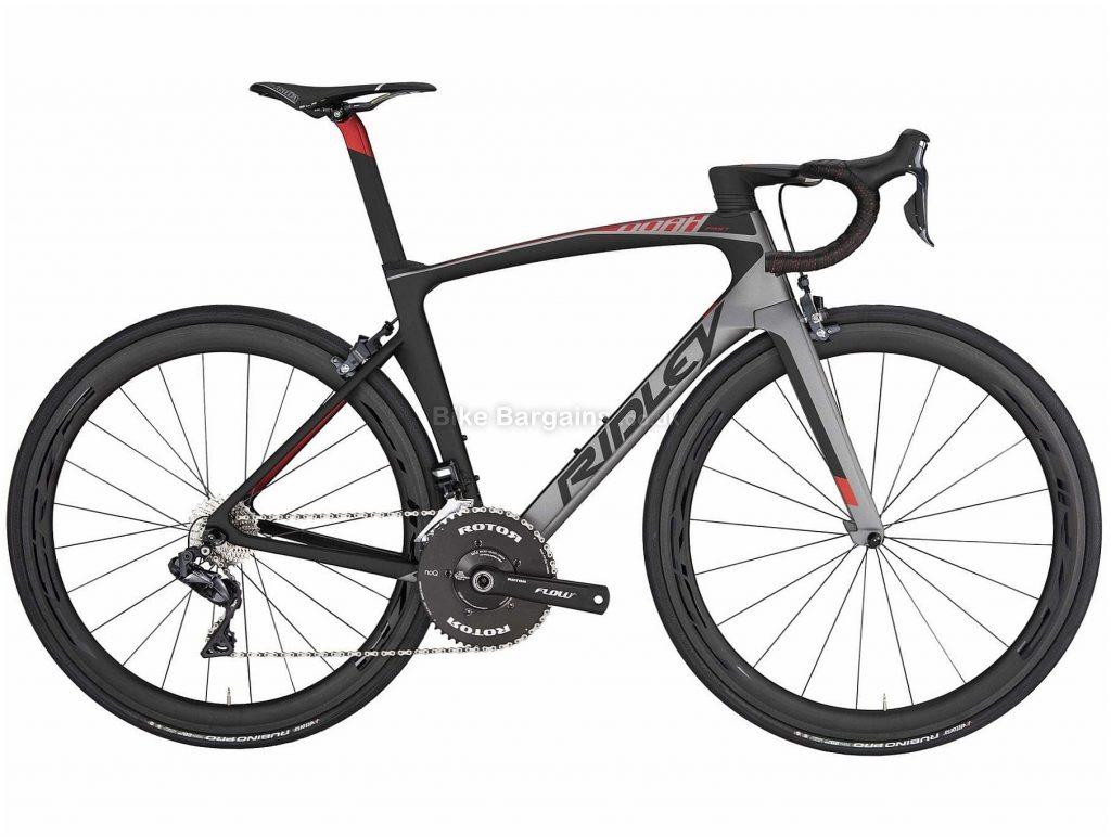 Ridley Noah Fast Ultegra Di2 Carbon Road Bike 2020 S, Grey, Black, 22 Speed, Carbon Frame, 700c Wheels, Caliper Brakes