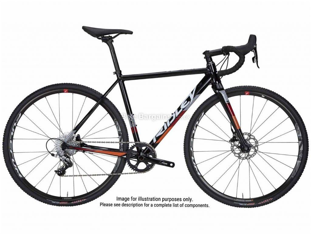 Ridley X-Ride Disc Alloy Cyclocross Bike 2020 XXS, Black, 22 Speed, Alloy Frame, 700c Wheels, Disc Brakes