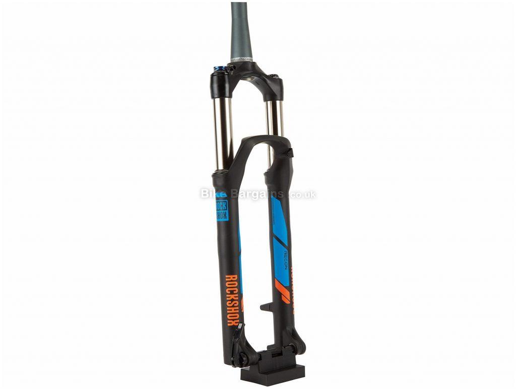"""RockShox Recon Silver TK MTB Suspension Forks 27.5"""", 120mm, Black, Blue, Orange, Tapered, 2.15kg, Alloy, Steel, Magnesium"""