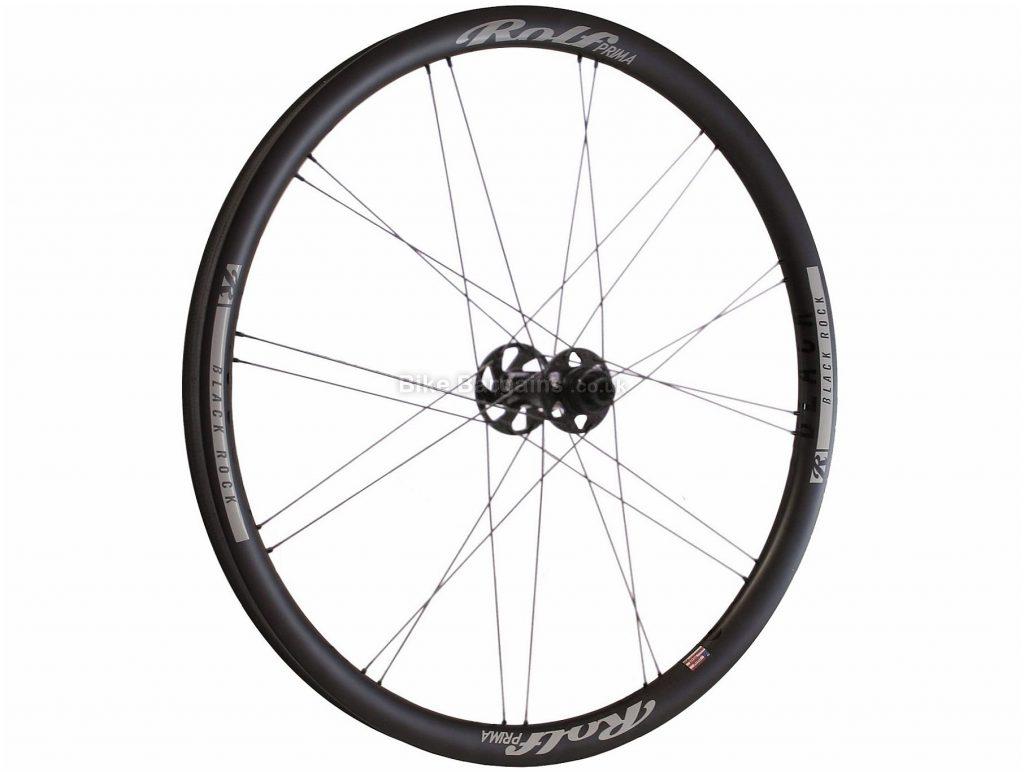 """Rolf Prima Black Rock Carbon Front MTB Wheel 27.5"""", Black, Front, 110mm, 725g"""