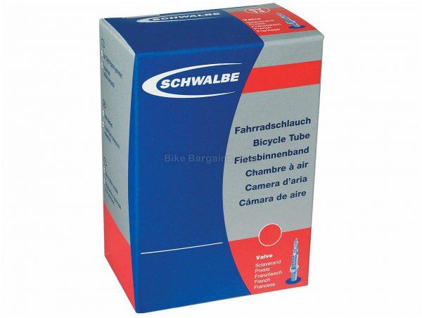 "Schwalbe FatBike MTB Inner Tube 26"", 4.8"", Presta, Black, 390g, Butyl"
