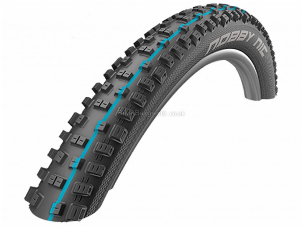 "Schwalbe Nobby Nic Addix SpeedGrip Folding Tyre 27.5"", 2.6"", Black, Folding, 810g, Kevlar, Rubber"