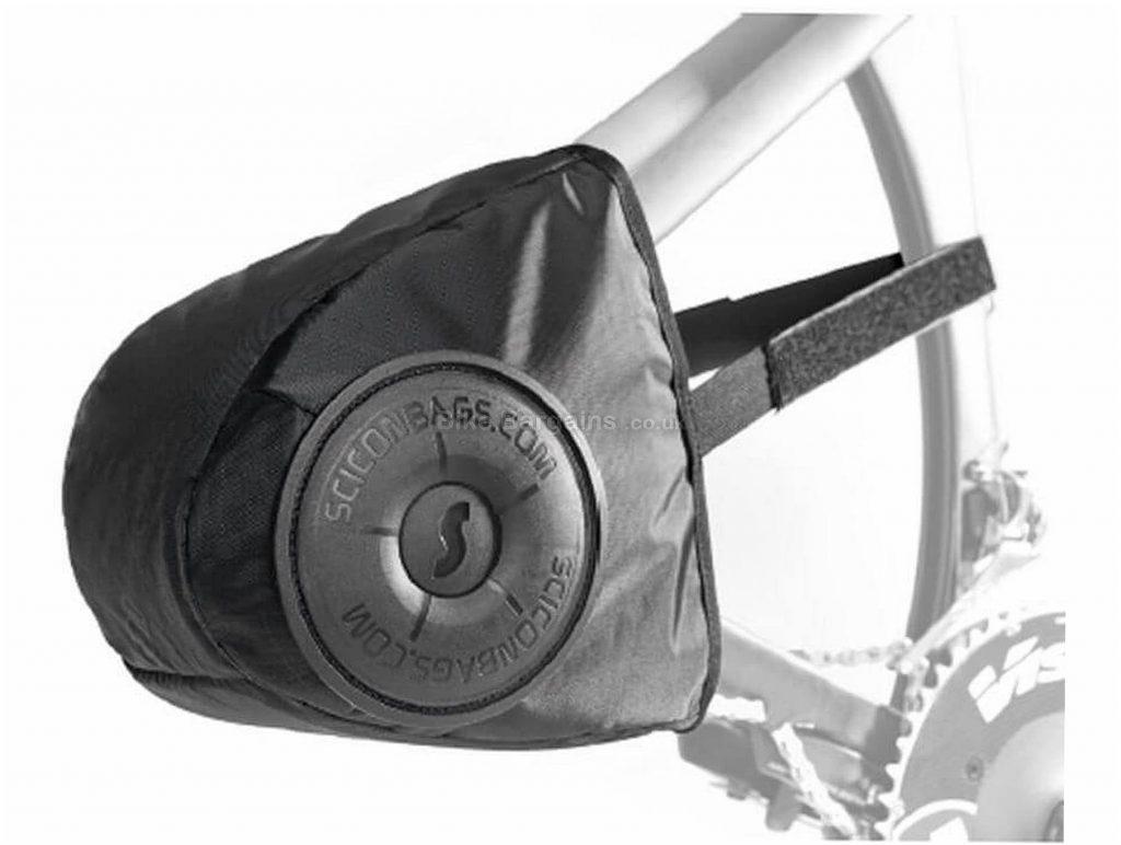Scicon Rear Derailleur Protector Black, One Size, 22cm, 25cm, 17cm, 192g, Nylon