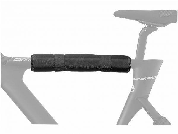 Scicon Top Tube Protector Black, One Size, 40cm, 25cm, 53g, Nylon, Velcro