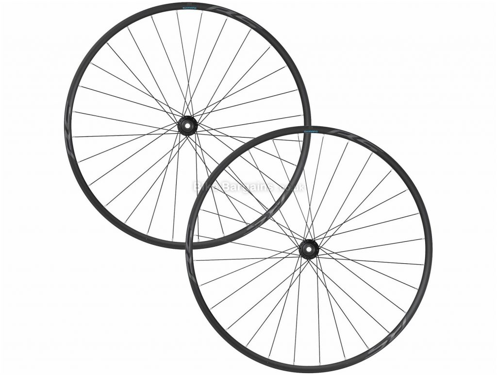 Shimano RS171 Disc Road Wheels 700c, Black, Front & Rear