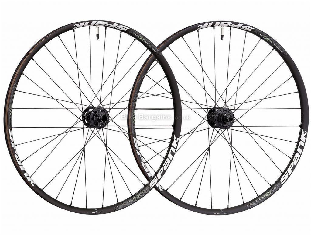 "Spank 350 Vibrocore XD MTB Wheels 29"", Black, 135mm, 142mm, Steel"