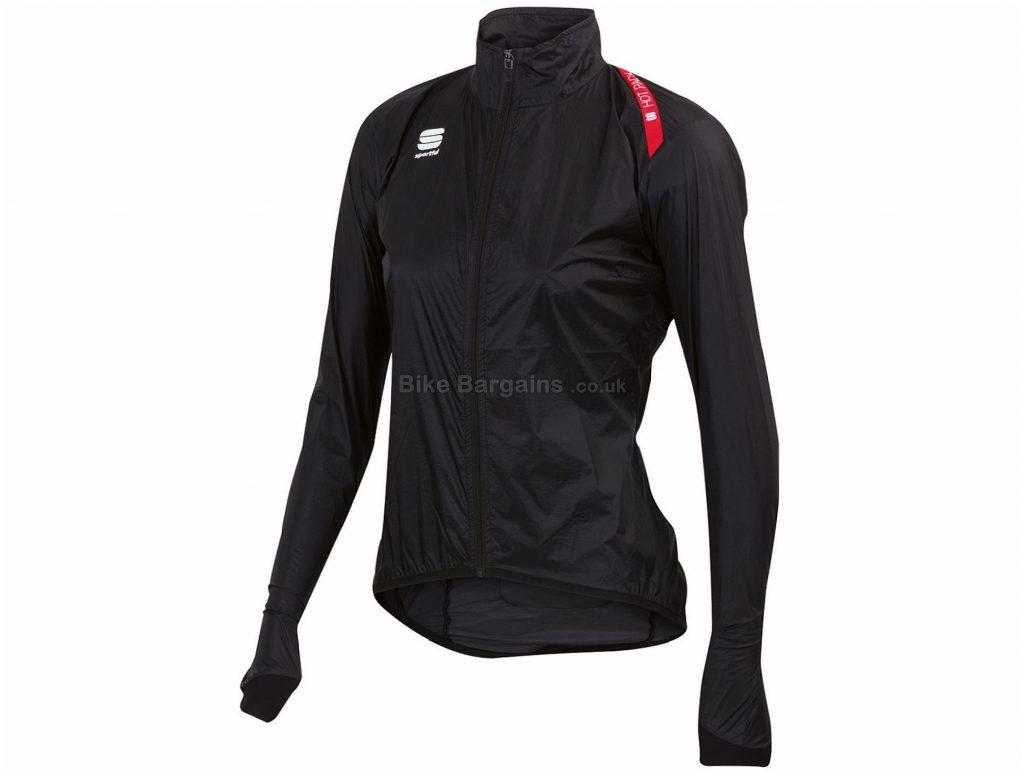 Sportful Ladies Hot Pack 5 Jacket XL, Black, 65g, Long Sleeve, Polyamide