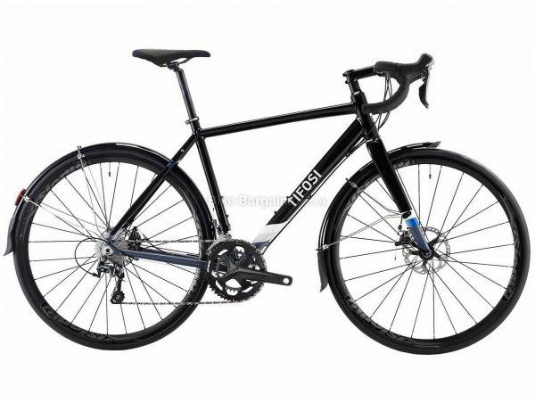 Tifosi CK7 Disc Tiagra Alloy Road Bike 2020 S,M, Black, 20 Speed, Alloy Frame, 700c Wheels, Disc Brakes