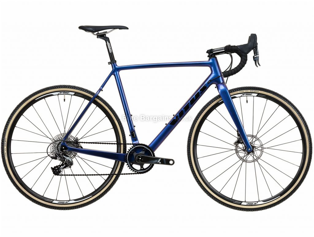 Vitus Energie CRX Force Carbon Cyclocross Bike 2020 XL, Blue, Black, 11 Speed, Carbon Frame, 700c Wheels, Disc Brakes