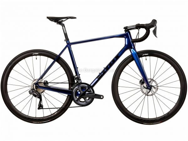 Vitus Vitesse EVO CRS Ultegra Di2 Carbon Road Bike 2020 XXL, Blue, Black, 22 Speed, Carbon Frame, 700c Wheels, Disc Brakes