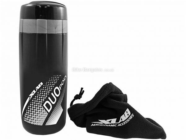 XLAB Duo Pod Storage Bottle 600ml, 83ml, Black, Plastic