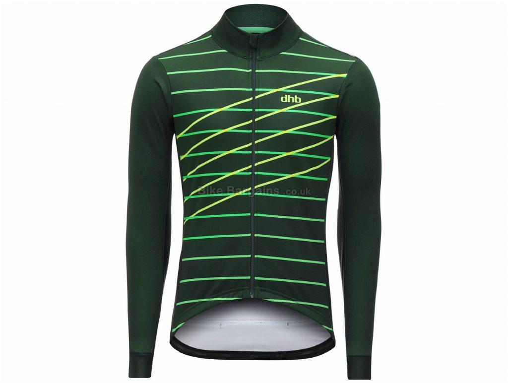 dhb Classic Laser Softshell Roubaix Jacket XS, Green, Blue, Red, Men's, Long Sleeve, Polyester, Elastane