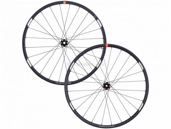 """3T Discus C25 Pro Wheels 650c, 27.5"""", Black, Front & Rear, 1.65kg, Alloy"""