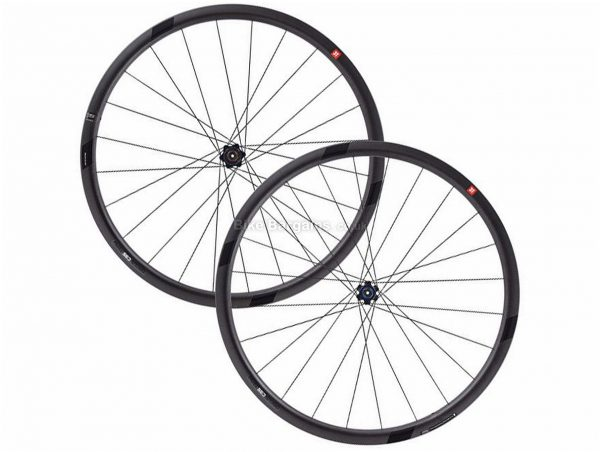 3T Discus C35 Team Stealth Road Wheels 700c, Black, Front & Rear, 1.464kg, Carbon