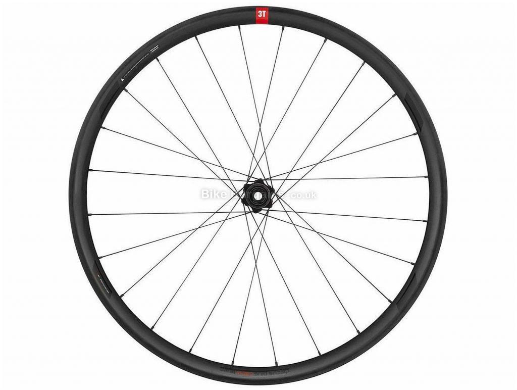 """3T R Discus Plus C30W Lighter Front Gravel Wheel 27.5"""", Front, Black, Carbon"""