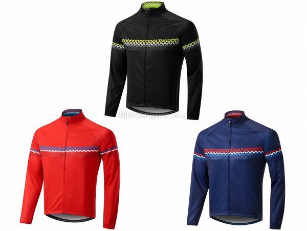 Altura Club Long Sleeve Jersey 2019 S, Black, Blue, Men's, Long Sleeve, Polyester