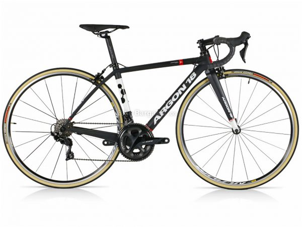 Argon 18 Gallium 105 Carbon Road Bike 2020 XS, Black, White, Red, Carbon Frame, 700c wheels, 22 Speed, Double Chainring, Caliper Brakes